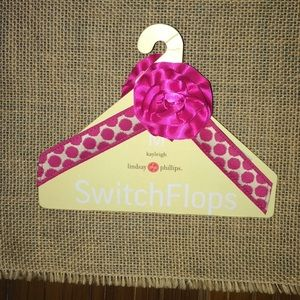 Lindsay Phillips Switch Flop Kayleigh Strap Pink